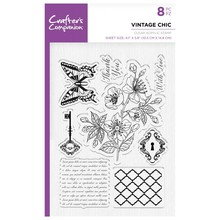 Crafter's Companion Roaring Twenties Vintage Chic Clear Stamps (CC-ST-CA-VC)