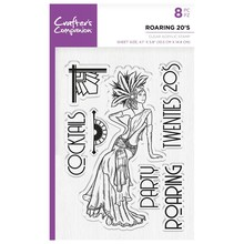 Crafter's Companion Roaring Twenties Roaring 20's Clear Stamps (CC-ST-CA-RT)