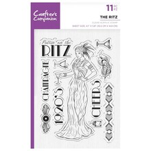 Crafter's Companion Roaring Twenties The Ritz Clear Stamps (CC-ST-CA-TR)