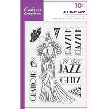 Crafter's Companion Roaring Twenties All That Jazz Clear Stamps (CC-ST-CA-ATJ)