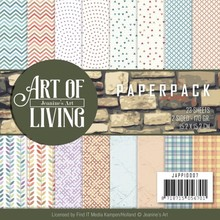 Jeanine's Art Art of Living 6x6 Inch Paper Pack (JAPP10007)