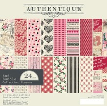 Authentique Romance 6x6 Inch Paper Pad (ROM010)