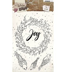 Studio Light Winter Days Clear Stamps (STAMPWD312)