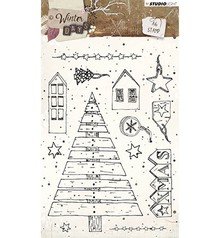 Studio Light Winter Days Clear Stamps (STAMPWD313)
