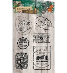 Studio Light Industrial 3.0 Clear Stamps (STAMPIN318)