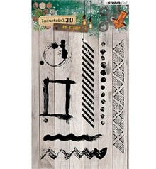 Studio Light Industrial 3.0 Clear Stamps (STAMPIN319)