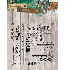 Studio Light Industrial 3.0 Clear Stamp (STAMPIN321)
