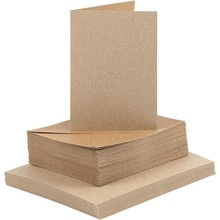 Paperpads.nl SELECT Kaarten & Enveloppen Naturel 10,5x15 cm (23113)