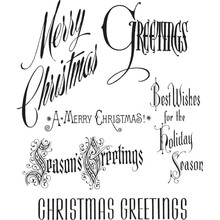Stampers Anonimous Cling Stamps Christmastime (CMS352)