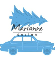 Marianne Design Creatable Driving Home For Christmas (LR0567)