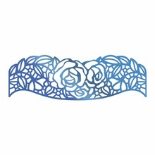 Couture Creations Hot Foil Stamp Rosey Border (CO725672)