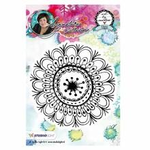 Studio Light Flower Art By Marlene Cling Stamp (STAMPBM05)