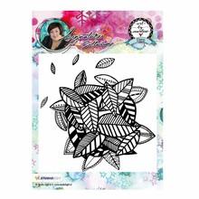 Studio Light Background Art By Marlene Cling Stamp (STAMPBM10)
