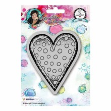 Studio Light Hearts Art By Marlene Cling Stamp (STAMPBM22)