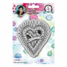 Studio Light Hearts Art By Marlene Cling Stamp (STAMPBM23)