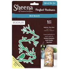 Sheena Bird Branch Metal Die Set (SD-PPMD-BIBR)