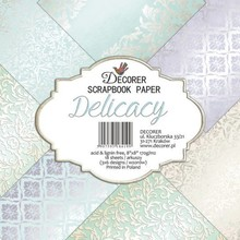 Decorer Delicacy 8x8 Inch Paper Pack (B21-419)