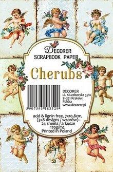 Decorer Cherubs Paper Pack (7x10,8cm) (M57)