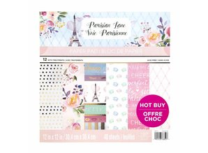 Craft Smith Parisian Lane 12x12 Inch Paper Pad (MPP0429)