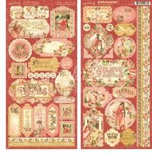 Graphic 45 Princess Stickers (4501804)