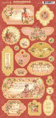 Graphic 45 Princess Chipboard (4501803)