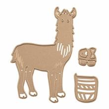 Spellbinders Snijmal Hip Llama (S3-319)