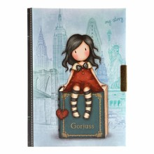 Gorjuss My Story Lockable Notebook (577GJ11)