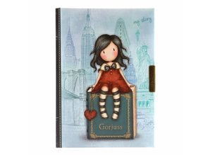Gorjuss My Story Lockable Notebook (577GJ11)