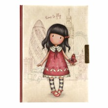 Gorjuss Time To Fly Lockable Notebook (577GJ12)