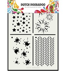 Dutch Doobadoo Dutch Mask Art A5 Multi Stencil 2 (470.715.131)