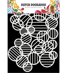Dutch Doobadoo Dutch Mask Art A5 Circle Lines (470.715.132)