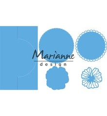 Marianne Design Creatable Anja's Vertical Folding Die Round (LR0570)