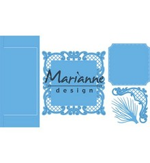 Marianne Design Creatable Anja's Vertical Folding Die Square (LR0571)