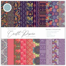 Craft Consortium Eastern Influences 12x12 Inch Paper Pad (CCEPAD002)