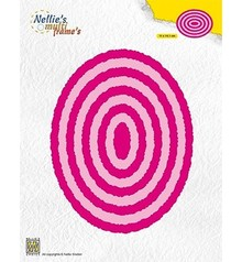 Nellie Snellen Multi Frame Photo Frames Ovals (MFD125)