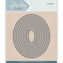 Card Deco Snijmal Nesting Ovaal (CDECD0021)