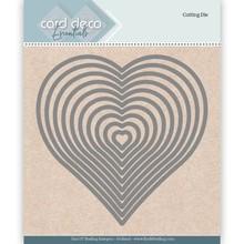 Card Deco Snijmal Nesting Hart (CDECD0024)