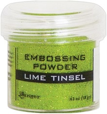 Ranger Embossing Powder Lime Tinsel (EPJ64541)