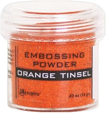 Ranger Embossing Powder Orange Tinsel (EPJ64558)