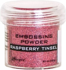 Ranger Embossing Powder Raspberry Tinsel (EPJ64572)
