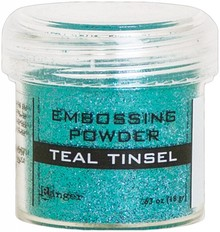 Ranger Embossing Powder Teal Tinsel (EPJ64589)