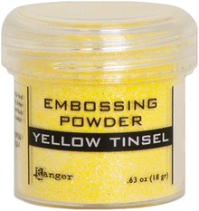 Ranger Embossing Powder Yellow Tinsel (EPJ64596)