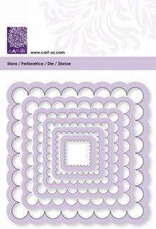 cArt-Us Stans & Embossingsmal Frame Vierkant Scalloped (001856/0104)