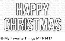 My Favorite Things Die-Namics Happy Christmas (MFT-1417)