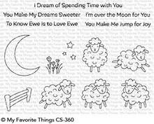 My Favorite Things Over the Moon for Ewe Clear Stamps (CS-360)