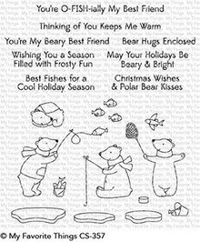 My Favorite Things Beary Best Friends Clear Stamps (CS-357)