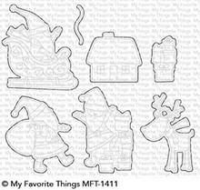 My Favorite Things Die-Namics Here Comes Santa Claus (MFT-1411)