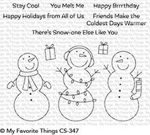 My Favorite Things Frosty Friends Clear Stamps (CS-347)