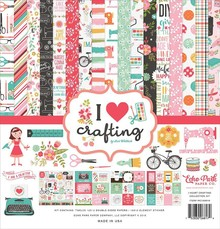 Echo Park I Heart Crafting 12x12 Inch Collection Kit (IHC169016)