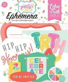 Echo Park Let's Party Ephemera (LP170024)